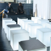 Led Illuminated Cube Hire And Led Furniture Rental