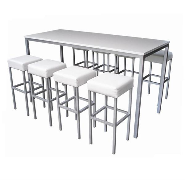 Concept furniture hire corrine high dining table